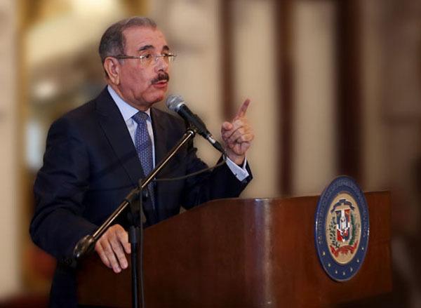 Presidente de la República Dominicana Sr. Danilo Medina Sanchez