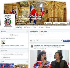 Facebook del Consulado General de la República Dominicana en Amsterdam