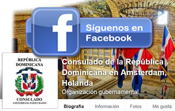 Visita el nuevo perfil de Facebook del Consulado