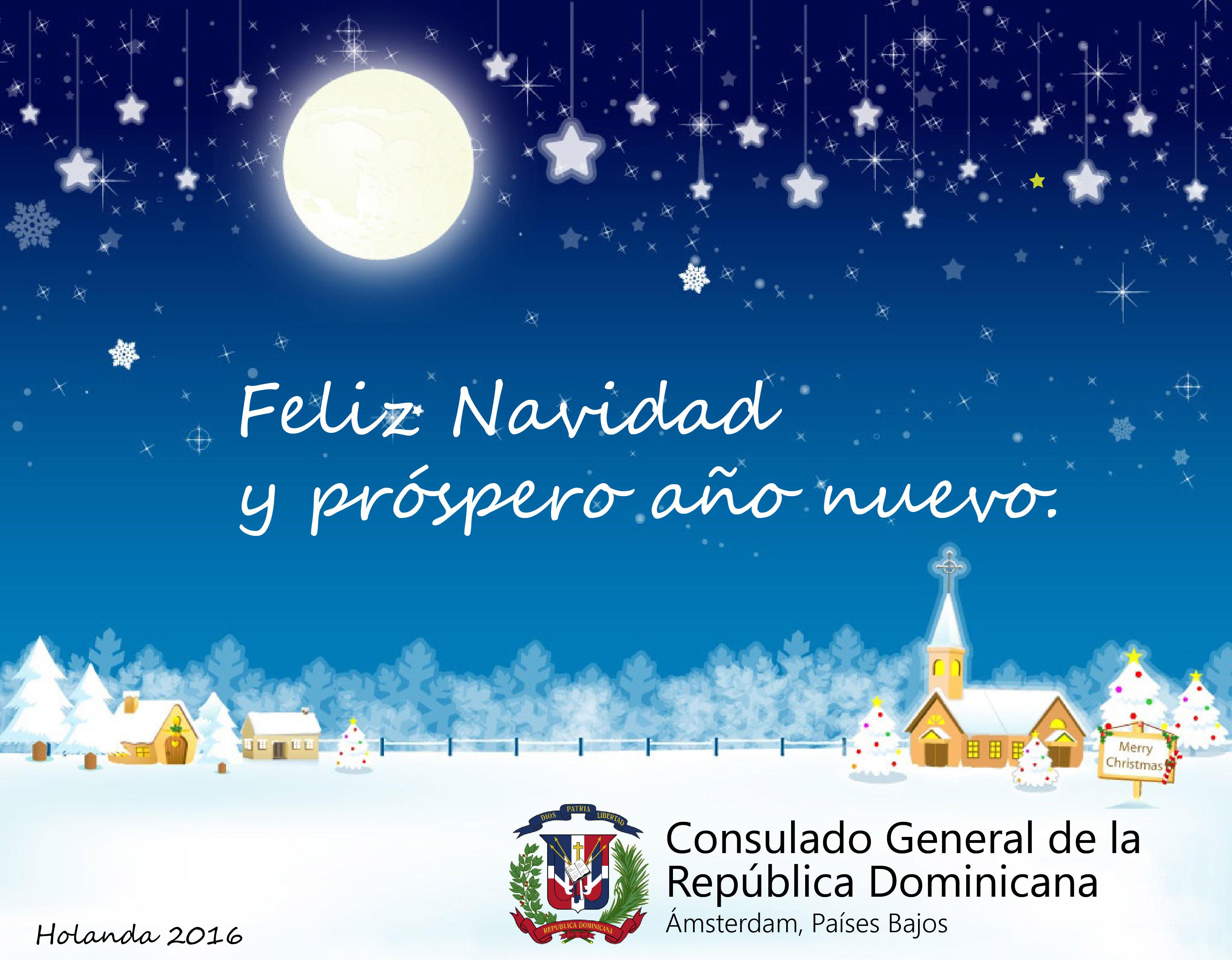 Consulado RD Holanda - Tarjeta de navidad 2016