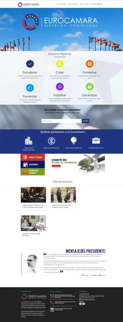 web completa eurocamara rd