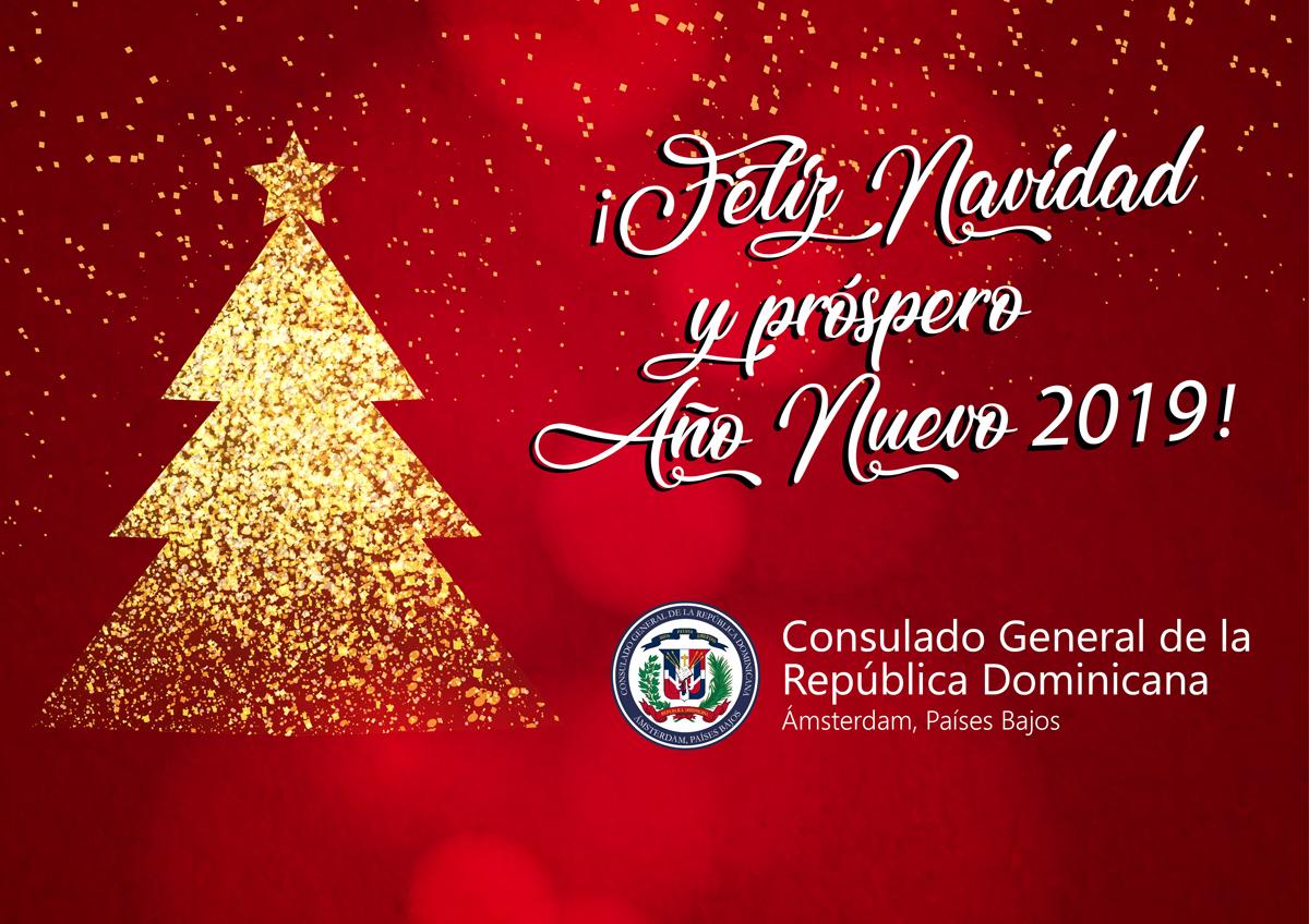 Imagenes De Navidad 2019.Feliz Navidad Y Prospero Ano Nuevo 2019 Consulado General