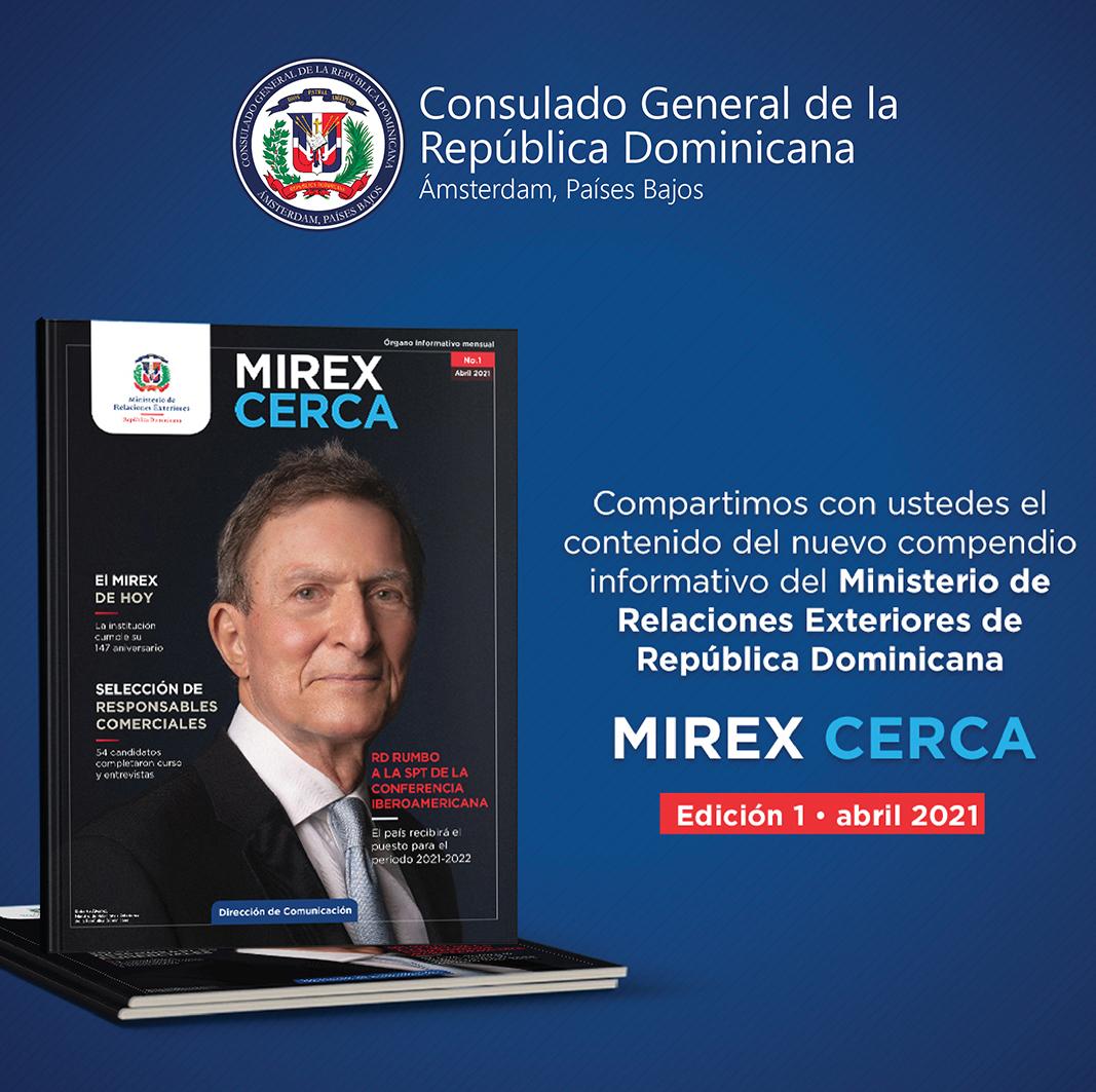 "Revista ""MIREX CERCA"" Nº 1 . Abril 2021"